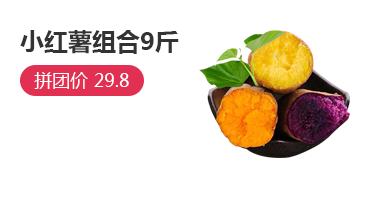 小紅薯組合9斤包郵