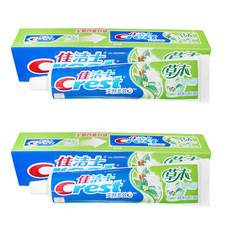 【3.1-3.31买一赠一】【2只装】佳洁士草本水晶牙膏 (清爽薄荷香型)90g (部分地区不发货)