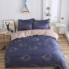 【邮】逸轩 简约北欧小清新钻石绒四件套适合在1.5米宽的床?#40092;?#29992;   被套150*200CM