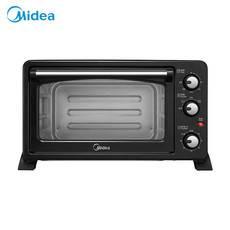 的(Midea)电烤箱家用多功能3D?#21857;?#24335;加热25L大容量 T3-252C 烤箱
